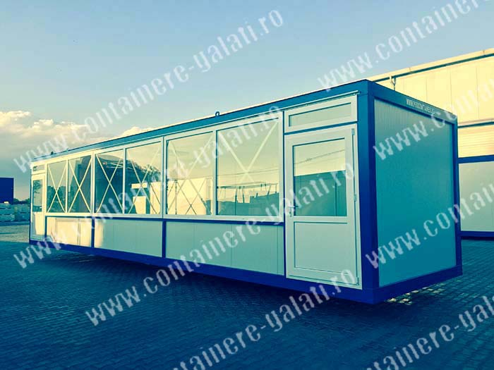 containere magazin lung Tulcea